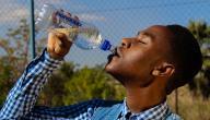 حديث الرسول عن شرب الماء