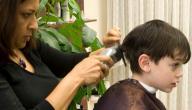 طريقة قص شعر الاطفال الاولاد