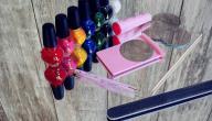 أدوات مناكير الأظافر