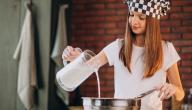 طريقة عمل القشطة المطبوخة