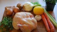 طريقة عمل صينية دجاج بالخضار بالفرن