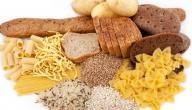 الأكل الذي يحتوي على كربوهيدرات