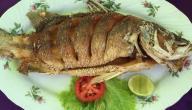 طريقة عمل سمك مقلى