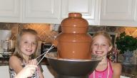 طريقة استخدام نافورة الشوكولاته