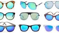 أشكال النظارات المناسبه للوجه