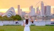 أين تقع مدينة سنغافورة؟