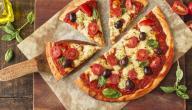 مكونات البيتزا