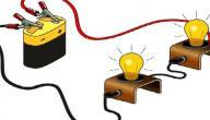 مكونات الدارة الكهربائية البسيطة