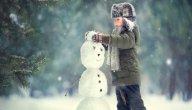 كيفية صنع رجل الثلج