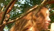 طريقة عمل صبغة الشعر باللون الاشقر