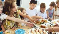 أطباق عيد ميلاد أطفال