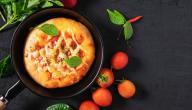 كيفية تحضير البيتزا في المقلاة