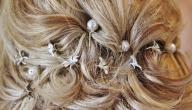 أشكال إكسسوارات الشعر