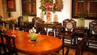 أفكار لتزيين طاولة الاستقبال