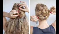 أشكال تسريحات شعر بنات