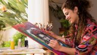 الفنانة الأنثى في الرسم!