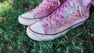 نصائح لك للعناية بالأحذية القماشية وتنظيفها