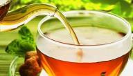 اضرار شرب الشاي الاخضر