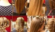 أسهل وأجمل تسريحات الشعر
