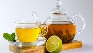 ما هي فوائد الشاي الأخضر والليمون للتنحيف؟