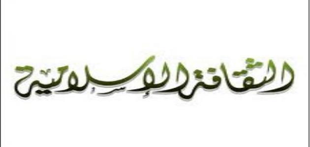 الثقافة الاسلامية واهميتها
