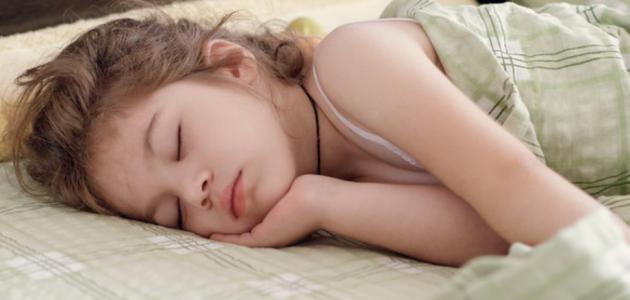 دعاء نوم الطفل