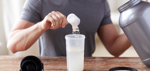 طريقة شرب البروتين