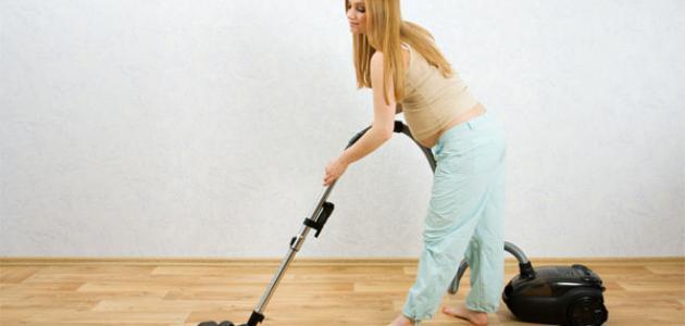 كيف انظف بيتي وانا حامل