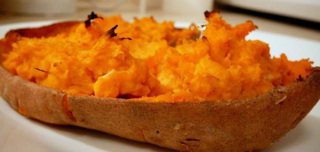 طرق طبخ البطاطا الحلوة