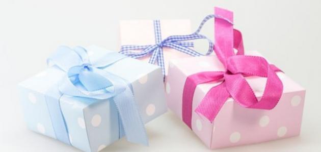أفضل هدايا مولود