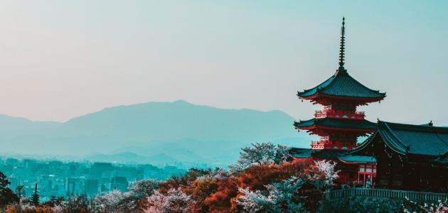 اين تقع اليابان