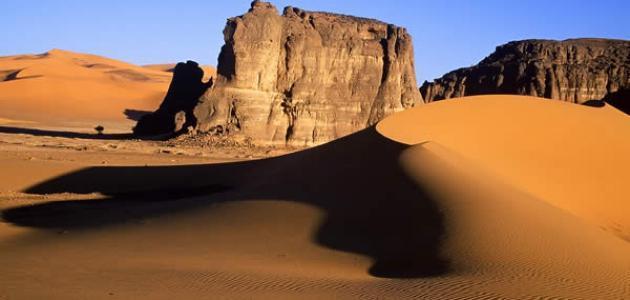 اين تقع الصحراء الكبرى