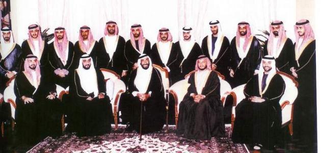 عدد زوجات الشيخ زايد