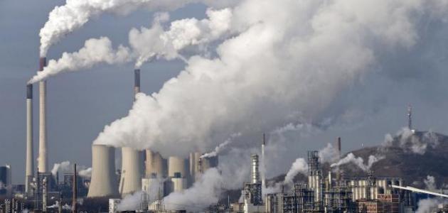 تعريف تلوث الغلاف الجوي
