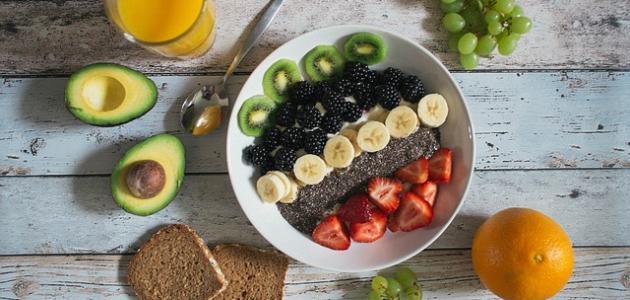 مكونات وجبة الافطار