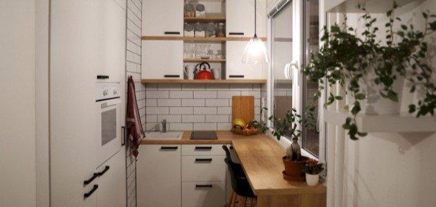 أفكار لمطبخ صغير