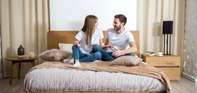 أفكار لتزيين غرفة النوم لعيد الزواج