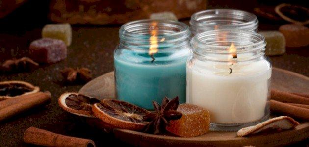 كيفية صنع شمعة معطرة