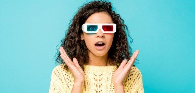هل يمكن عمل نظارة 3d؟