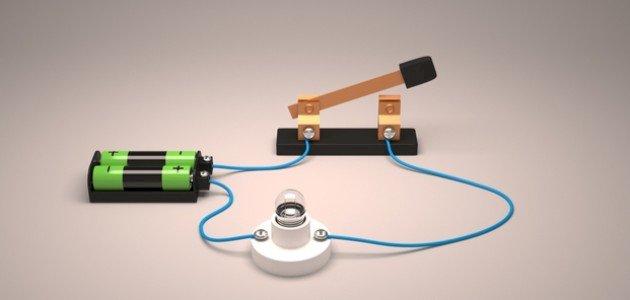 كيفية صنع دائرة كهربائية