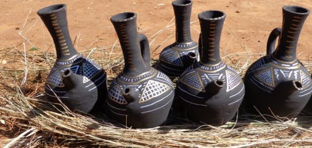 طريقة صنع الفخار