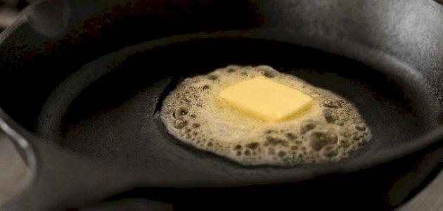 طريقة تسييح الزبدة