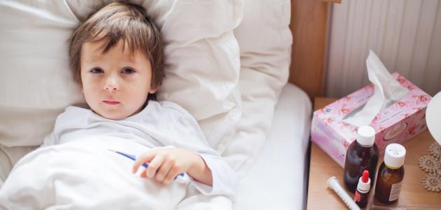 أسباب السخونة عند الأطفال الرضع