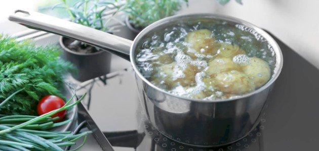 أطباق البطاطا المسلوقة