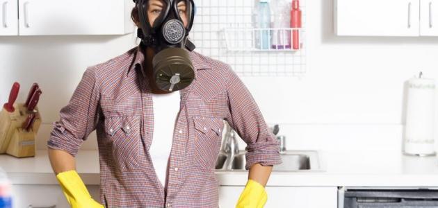 إزالة الروائح الكريهة من المطبخ