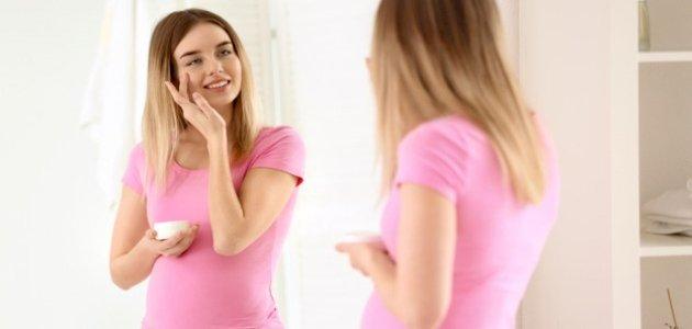 ازالة كلف الحمل من الوجه