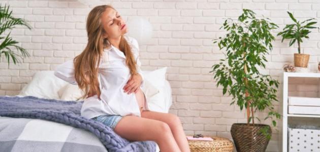 إفرازات بنية في بداية الحمل