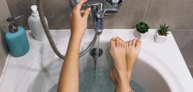 هل تعلمين أن الماء البارد يفيد جسمك