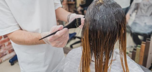 طريقة عمل خصل الشعر بالقصدير