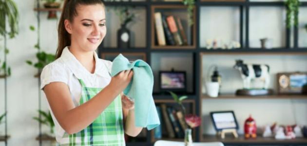 جدول سهل لتنظيف البيت